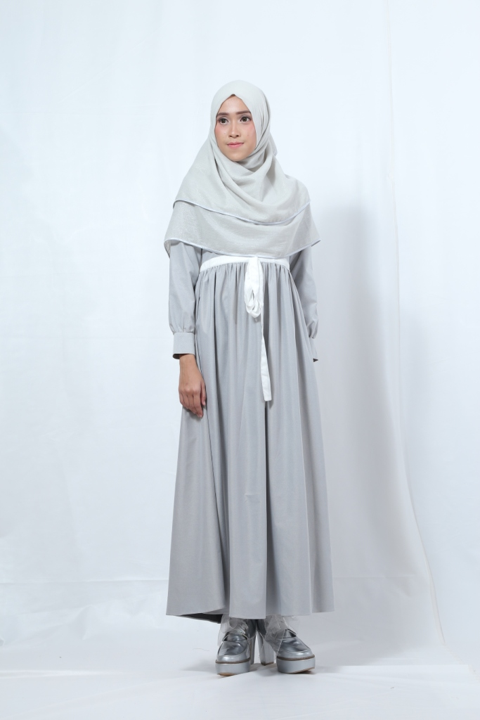 ALINI DRESS GREY